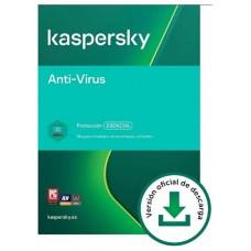 Kaspersky Antivirus: 3 Dispositivos / 1 año (Espera 2 dias)