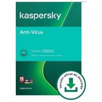 Kaspersky Antivirus: 5 Dispositivos / 1 año (Espera 2 dias)
