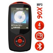 Reproductor MP3 Bluetooth 4Gb X06 Rojo (Espera 2 dias)