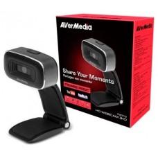 AVerMedia PW310 cámara web 2 MP USB 2.0 Negro (Espera 4 dias)