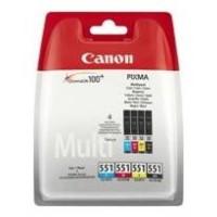 Canon Cartucho Multipack CLI-551 C/M/Y/BK