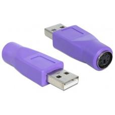ADAPTADOR DELOCK USB A PS/2 PARA TECLADO (Espera 4 dias)