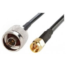 Cable Pigtail N (macho) SMA (macho) 10M Biwond