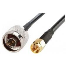 Cable Pigtail N (macho) SMA (macho) 15M Biwond