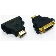 ADAPTADOR DVI-HDMI BIWOND 24+1/H-HDMI/M (Espera 2 dias)
