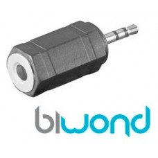 Adaptador Audio Jack 3.5H-2.5M BIWOND (Espera 2 dias)