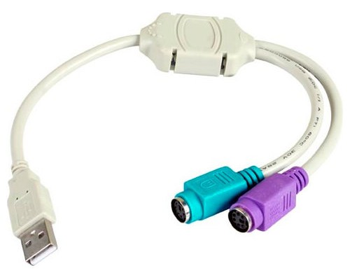 Adaptador USB a PS/2 (Espera 2 dias)