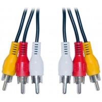 Cable 3 RCA Macho/3 RCA Macho 1.8m BIWOND