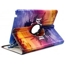 Funda COOL para iPad 2 / iPad 3 / 4 Giratoria Polipiel Dibujos Aloha (Soporte)
