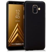 Funda Silicona Samsung A600 Galaxy A6 Negro
