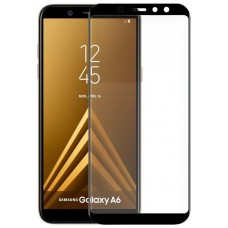 Protector Pantalla Cristal Templado Samsung A600 Galaxy A6 (FULL 3D Negro)