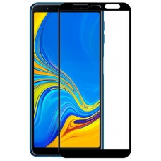 Protector Pantalla Cristal Templado Samsung A750 Galaxy A7 / J415 Galaxy J4 Plus / J6 Plus (FULL 3D Negro)