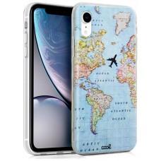 Carcasa iPhone XR Dibujos Mapa