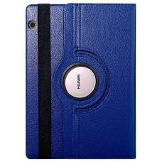Funda COOL para Huawei Mediapad T5 Polipiel Liso Azul 10.1 pulg