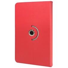 Funda COOL Ebook / Tablet 9.7 - 10 pulg Liso Rojo Giratoria (Panorámica)