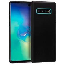 Funda Silicona Samsung G975 Galaxy S10 Plus (Negro)