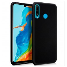 Funda Silicona Huawei P30 Lite (Negro)