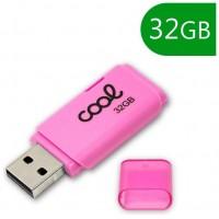 Pen Drive USB x32 GB 2.0 COOL Cover Rosa