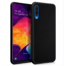 Funda Silicona Samsung A505 Galaxy A50 (Negro)