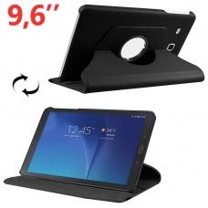 Funda COOL para Samsung Galaxy Tab E T560 Polipiel Negra 9.6 pulg