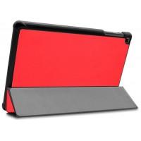 Funda COOL para Samsung Galaxy Tab A (2019) T510 / T515 Polipiel Liso Rojo 10.1 pulg