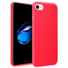 Funda Silicona iPhone 7 / iPhone 8 (Rojo)