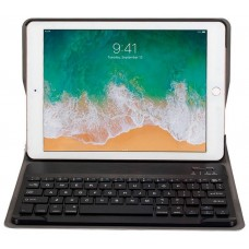 Funda COOL para iPad Air / Air 2 / Pro 9.7 / IPad 2017 / IPad 2018 9.7 Pulg Polipiel Teclado Bluetooth (Negro)