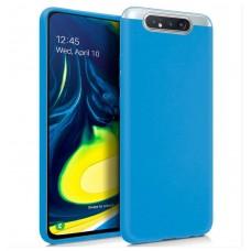Funda COOL Silicona para Samsung A805 Galaxy A80 (Celeste)