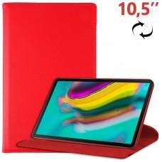 Funda COOL para Samsung Galaxy Tab S5e T720 / T725 Polipiel Rojo 10.5 pulg
