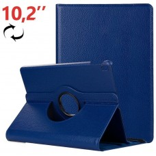 Funda COOL para iPad (2019 / 2020) 10,2 pulg Giratoria Polipiel Azul