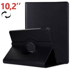 Funda COOL para iPad (2019 / 2020) 10,2 pulg Giratoria Polipiel Negro