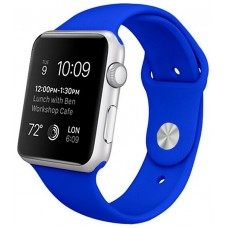 Correa COOL para Apple Watch Series 1 / 2 / 3 / 4 / 5 / 6 / SE (38 / 40 mm) Goma Azul