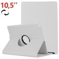Funda COOL para iPad Pro 10.5 / iPad Air 2019 10.5 Giratoria Polipiel Blanca