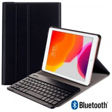 Funda COOL para iPad (2019 / 2020) de 10,2 pulg Polipiel Teclado Bluetooth (Negro)