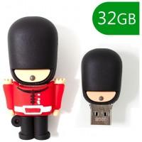 Pen Drive USB x32 GB Silicona Guardia