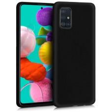 Funda COOL Silicona para Samsung A515 Galaxy A51 (Negro)