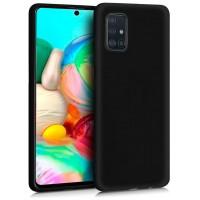Funda COOL Silicona para Samsung A715 Galaxy A71 (Negro)