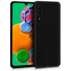 Funda COOL Silicona para Samsung A908 Galaxy A90 5G (Negro)