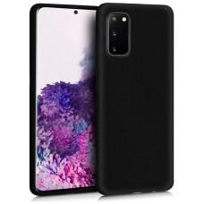 Funda COOL Silicona para Samsung G980 Galaxy S20 (Negro)