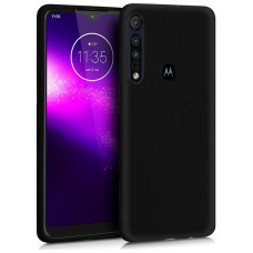 Funda COOL Silicona para Motorola One Macro Negro