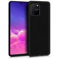 Funda COOL Silicona para Samsung G770 Galaxy S10 Lite (Negro)