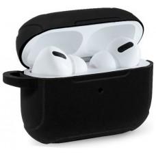 Funda Soft Silicona COOL para Apple Airpods Pro (Negro)
