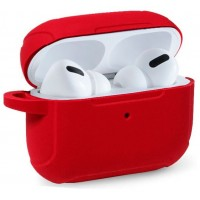 Funda Soft Silicona COOL para Apple Airpods Pro (Rojo)