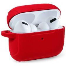 Funda Soft Silicona COOL para Apple Airpods Pro (Rojo)