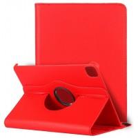 Funda COOL para iPad Pro 11 pulg (2020) / iPad Air 4 (10.9) Giratoria Polipiel Rojo