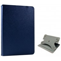 Funda COOL Ebook / Tablet 8 pulgadas Liso Azul Giratoria