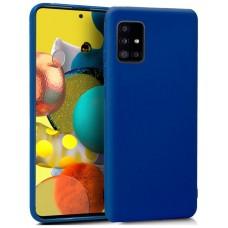 Funda COOL Silicona para Samsung A516 Galaxy A51 5G (Azul)