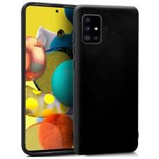 Funda COOL Silicona para Samsung A516 Galaxy A51 5G (Negro)