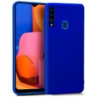 Funda COOL Silicona para Samsung A207 Galaxy A20s (Azul)