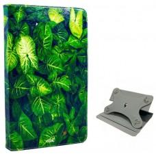 Funda COOL Ebook / Tablet 9.7 - 10 pulg Polipiel Hojas Giratoria (Panorámica)
